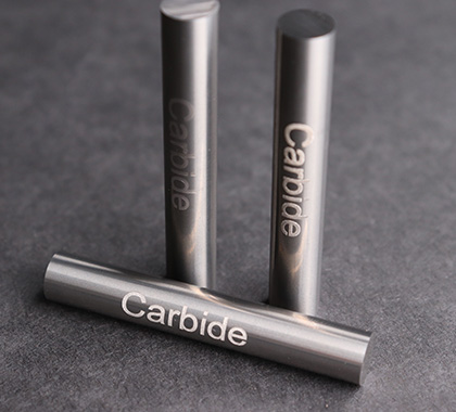 Different types of markings on carbide bars.